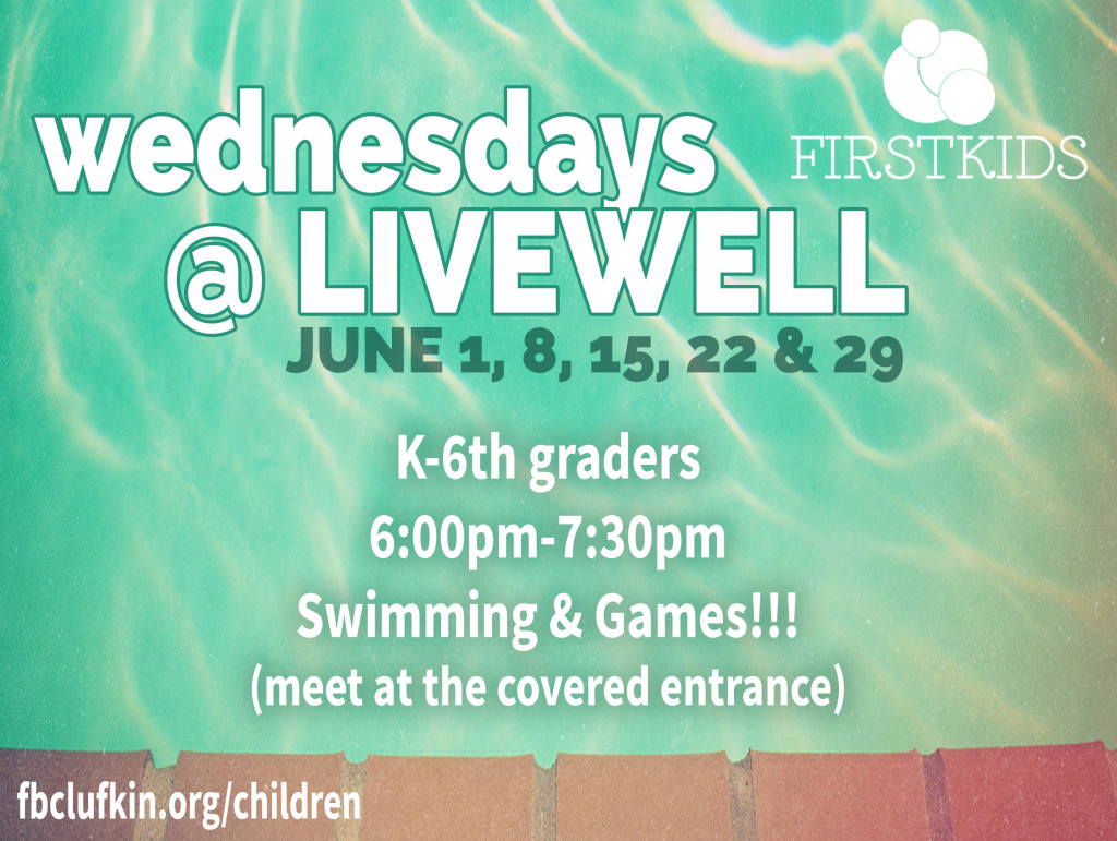 wednesdays at livewell Slide